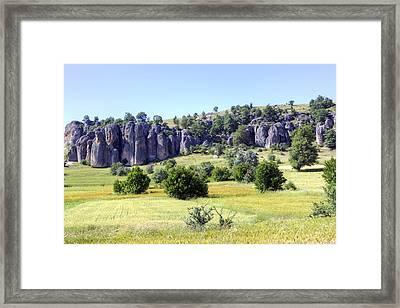 Kilistra - Turkey Framed Print