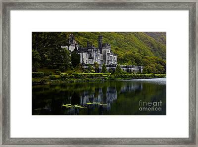Kylemore Abbey Framed Print by Gabriela Insuratelu