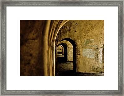 Labyrinth Framed Print by Grebo Gray