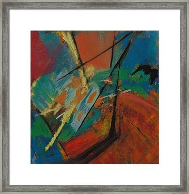 Landing Sight Framed Print by Ethel Vrana