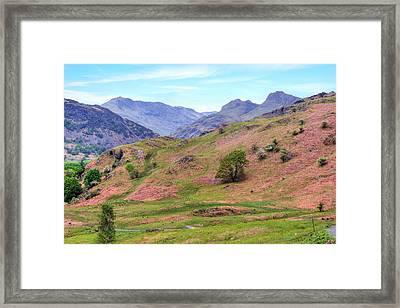 Langdale - Lake District Framed Print