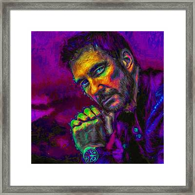 @lauraneidig I Figured Since You Framed Print by David Haskett