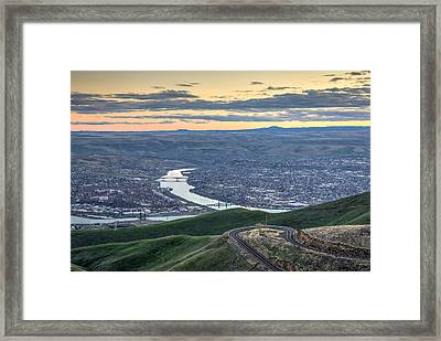 Lc Valley Framed Print