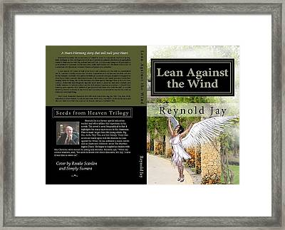 Lean Against The Wind Framed Print