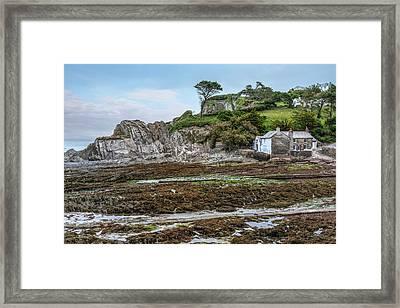 Lee Bay - England Framed Print