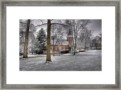 Lee Chapel Framed Print by Todd Hostetter