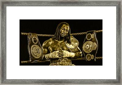 Lennox Lewis Collection Framed Print