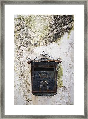 Letter Box Framed Print