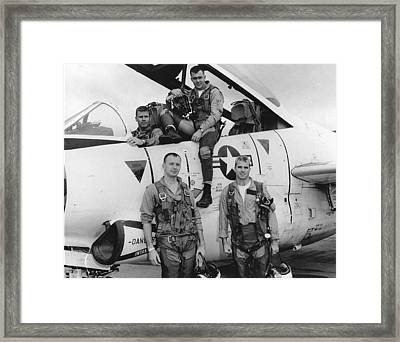 Lieutenant Commander John S. Mccain Framed Print by Everett
