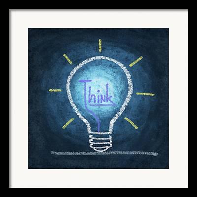Bright Lights Framed Prints