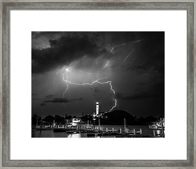 Lightning Framed Print