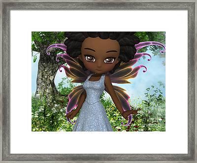 Lil Fairy Princess Framed Print by Alexander Butler