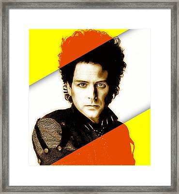 Lindsey Buckingham Collection Framed Print by Marvin Blaine