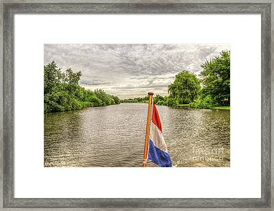 Linge Route Framed Print