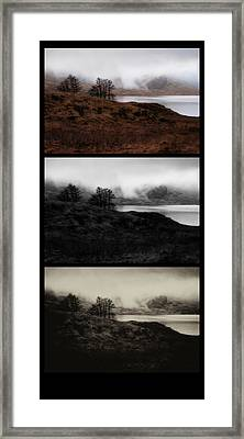 Framed Print featuring the photograph Loch Arklet by Jeremy Lavender Photography