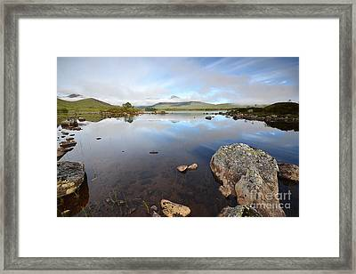 Loch Nah Achlaise Framed Print