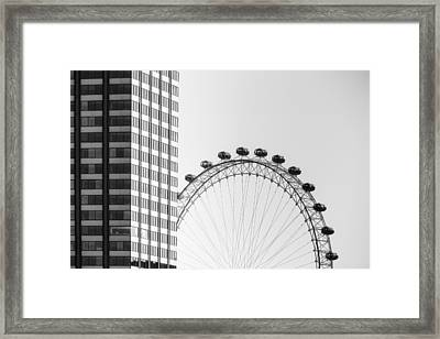 London Eye Framed Print by Joana Kruse