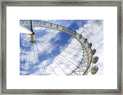 London Eye Framed Print by Svetlana Sewell