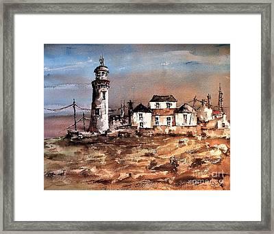 Loophead Lighthouse, Clare Framed Print