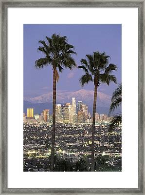 Los Angeles Ca Framed Print