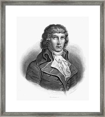Louis Saint-just (1767-1794) Framed Print