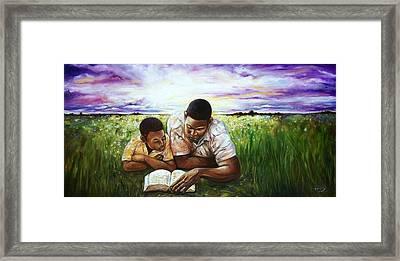 Love Framed Print by Emery Franklin