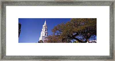 Low Angle View Of A Church, St Framed Print by Panoramic Images
