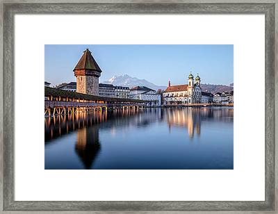 Lucerne - Switzerland Framed Print