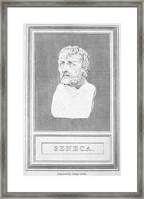 Lucius Annaeus Seneca Framed Print by Granger
