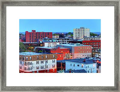 Lynn, Massachusetts Framed Print by Denis Tangney Jr