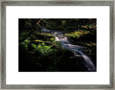 Lynn Mill Waterfalls Framed Print