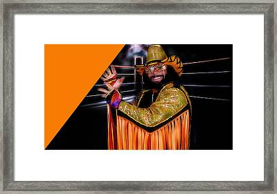 Macho Man Randy Savage Collection Framed Print