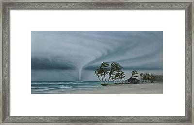 Mahahual Framed Print by Angel Ortiz