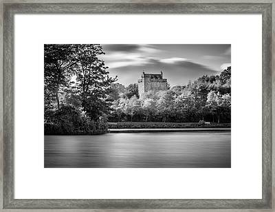 Mains Castle East Kilbride, Scotland Framed Print