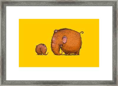 Mammothz Framed Print by Andy Catling