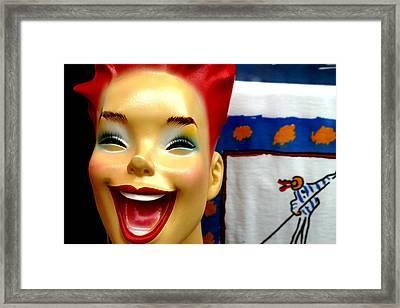 Mandy Framed Print by Jez C Self