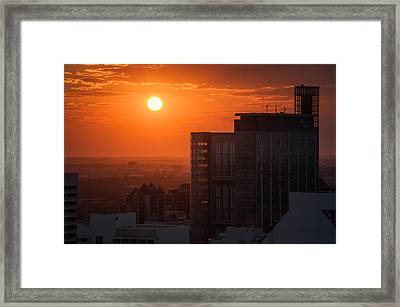 Manitoba Hydro Framed Print by Bryan Scott