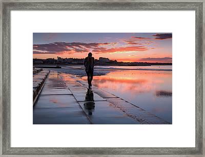 Margate Kings Steps Framed Print