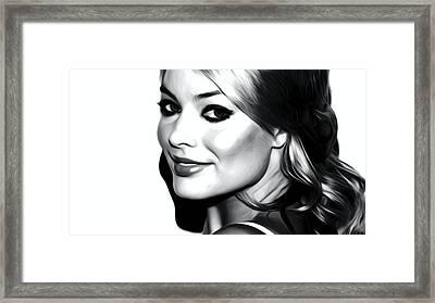 Margot Robbie Framed Print by Best Actors