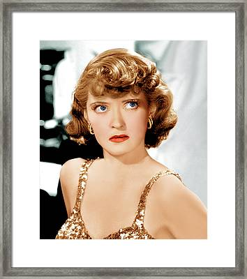 Marked Woman, Bette Davis, 1937 Framed Print