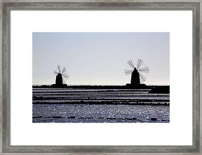Marsala - Sicily Framed Print by Joana Kruse