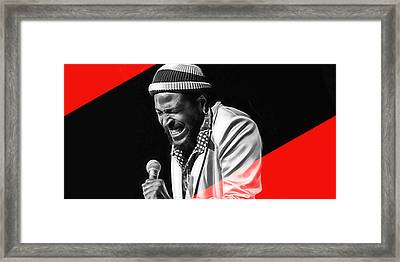 Marvin Gaye Collection Framed Print