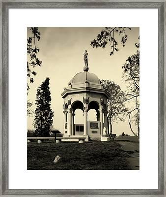 Maryland Monument - Antietam Framed Print