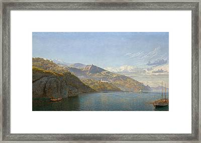 Massa, Bay Of Naples Framed Print