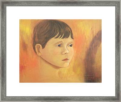 Matt Molleur Framed Print by Suzanne  Marie Leclair