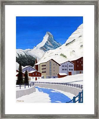 Matterhorn-zermatt Framed Print