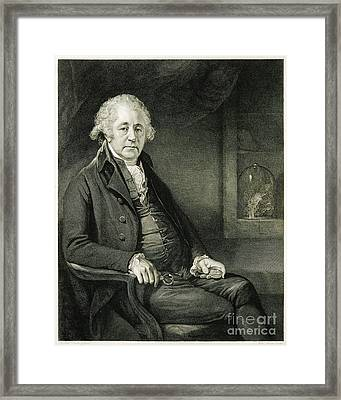 Matthew Boulton, English Manufacturer Framed Print by Wellcome Images