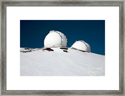 Mauna Kea Observatory Framed Print by Peter French - Printscapes