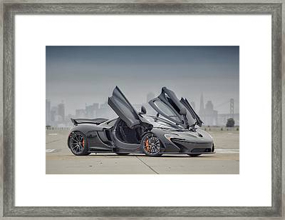 Framed Print featuring the photograph Mclaren P1 by ItzKirb Photography