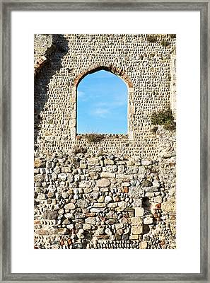 Medieval Ruins Framed Print by Tom Gowanlock